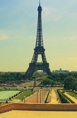 op vakantie in Frankrijk