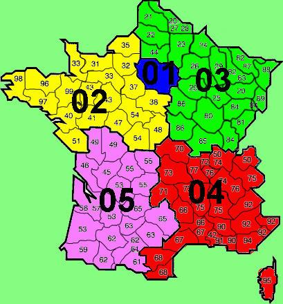 Franse telefoonnummers