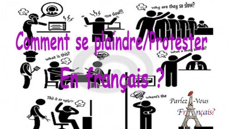klachtenbrief Frans