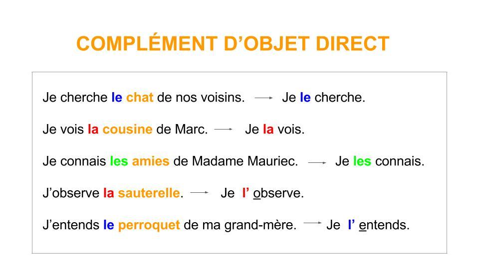vertaling dat in het Frans